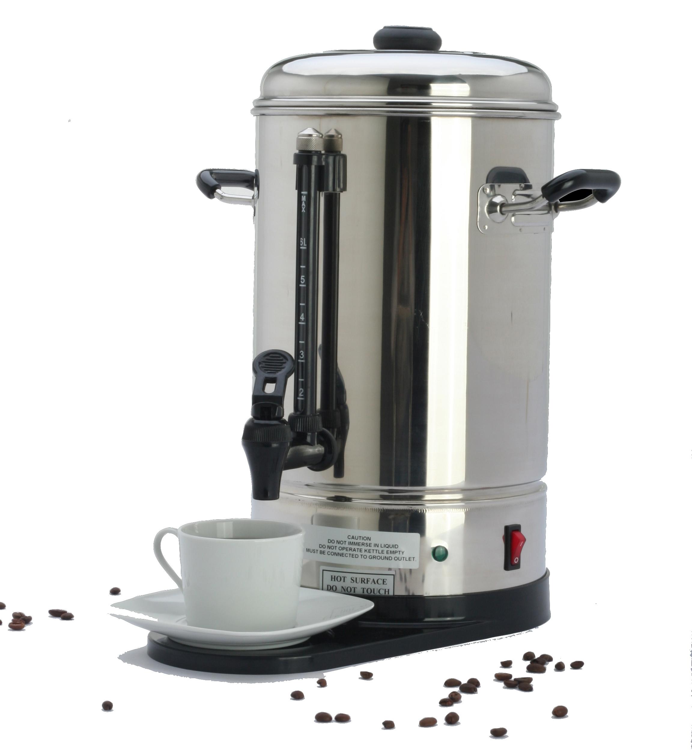 Kaffe og the tilberedning