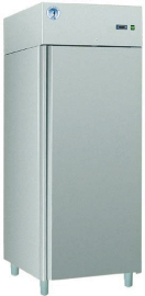 Køleskab i rustfri stål
