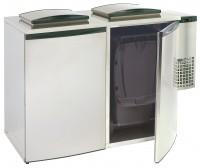 Affaldskøler - dobbelt