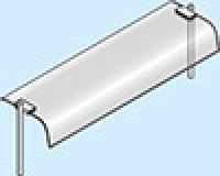 Indbygningshyldemedbuetglas785x360x400mm-20
