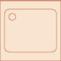 Vaskebord700x700x850mmmedbundhyldeCNS1810-20