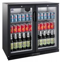 Flaskekøler | 208 liter | Sort | Drikkevarekøler | Barkøler
