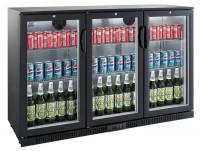 Flaskekøler 330 liter | Back Bar Cooler | Drikkevarekøler | Sort