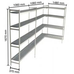 Reolsystem til køle-/fryserum KIT80