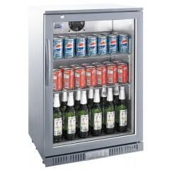 Flaskekøler - 128 liter - glasdør