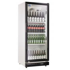 Flaskekøleskab | sort dør | 310 liter | drikkekøleskab